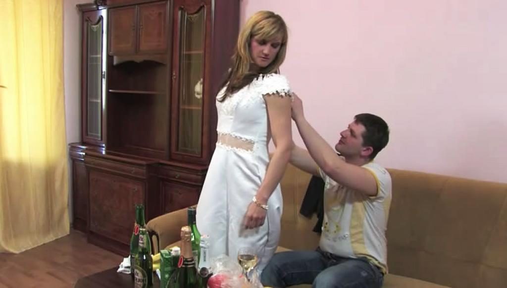 Мужик напоил и трахнул свою бывшую накануне её свадьбы