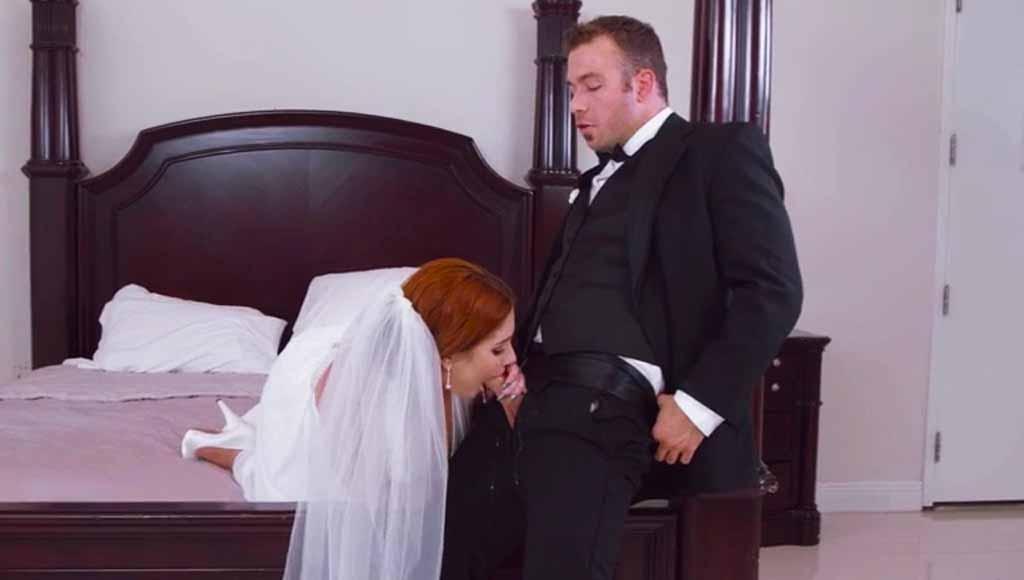Трахнул невесту лучшего друга перед свадьбой